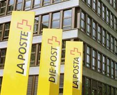 Die Post-Hauptsitz in Bern.