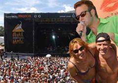 Neuer Besucherrekord am Open Air Gampel: 54 000 Besucher feierten das Musikfestival.