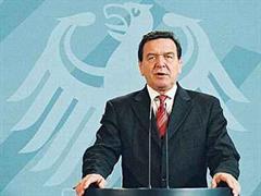 Gerhard Schröder eröffnete die dritte internationale Afghanistan-Konferenz in Berlin.