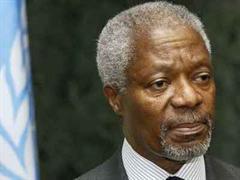 Kofi Annan erfährt viel Solidarität.