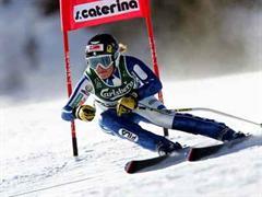 Nadia Fanchini stürzte im Training schwer.
