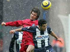 Wicky erlitt in Berlin gegen Hertha einen Muskelfaserriss.
