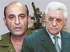 Israel Verteidigungsminister Schaul Mofas palästinensischen Präsidenten Mahmud Abbas.