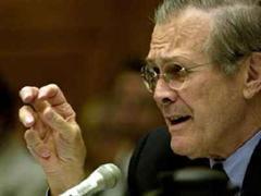 US-Verteidigungsminister Donald Rumsfeld.