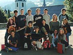 Eine 6. Klasse in Alt St. Johann.