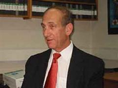 Israels Ministerpräsident Ehud Olmert.