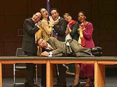 Das Ensemble führte das Stück in Köln mit grossem Erfolg auf.