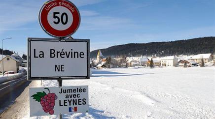 Heute Samstag wird in La Brévine das Fest der Kälte gefeiert.