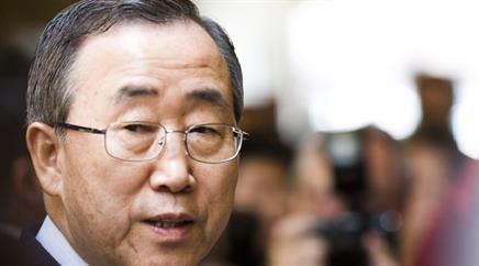 UNO-Generalsekretär Ban Ki Moon. (Archivbild)