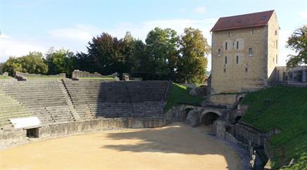 Die Stadt Aventicum war die Hauptstadt der Helvetier.