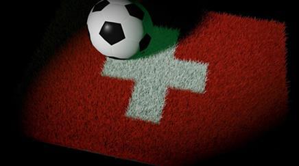 Schweizer Flagge, Fussball