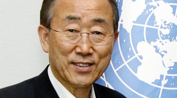 UNO-Generalsekretär Ban Ki Moon.