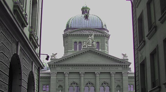 Bundeshaus in Bern.