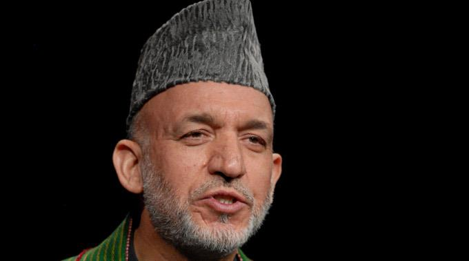 Afghanistas Staatschef Hamid Karsai.