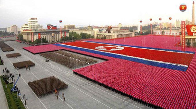 Militärparade in Nordkorea. (Archivbild)