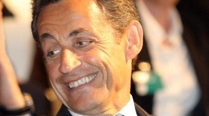 Da hat er sich vertan: Nicolas Sarkozy.
