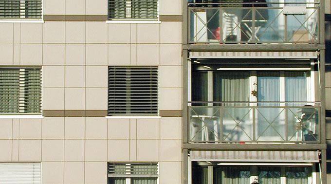 Sturz vom Balkon. (Symbolbild)