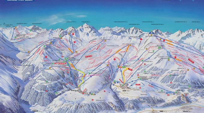 132 Kilometer Loipen, 10 Kilometer Rodelbahnen, 70 Kilometer geräumte Wanderwege und irrsinnige 187 Kilometer astreine breite Pisten.
