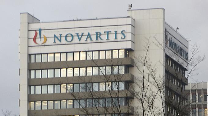 Novartis in Basel.