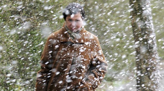 In Israel herrscht starker Schneefall. (Symbolbild)