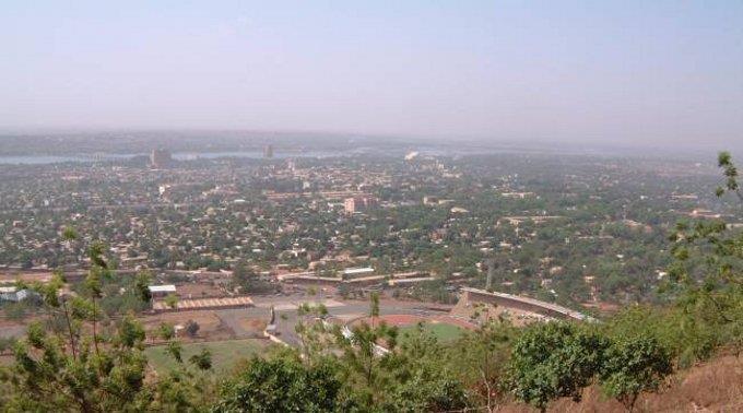 Malis Hauptstadt Bamako.