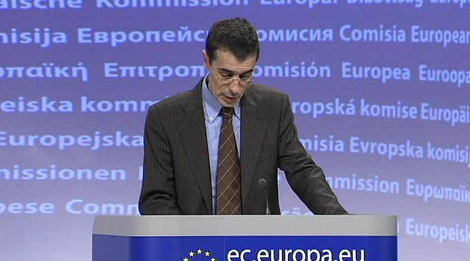 EU-Kommissionssprecher Amadeu Altafaj Tardio.