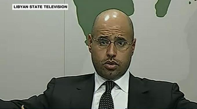 Saif El Islam Gaddafi. (Archivbild)