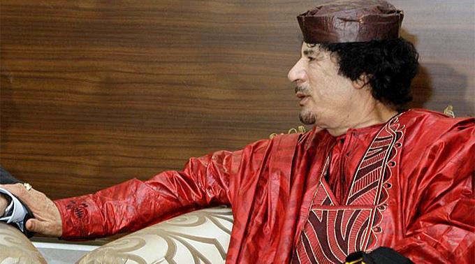 Diktator Muammar Gaddafi wurde im Oktober 2011 getötet.