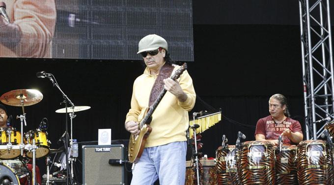 Carlos Santana kommt ans Paléo Festival.
