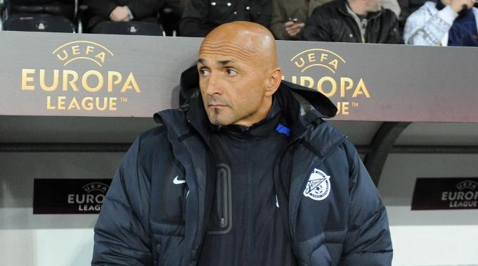 Zenits Trainer Luciano Spalletti.