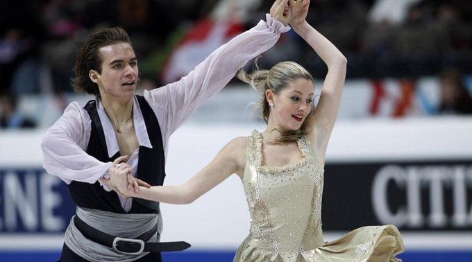 Florian Roost und Ramona Elsener.