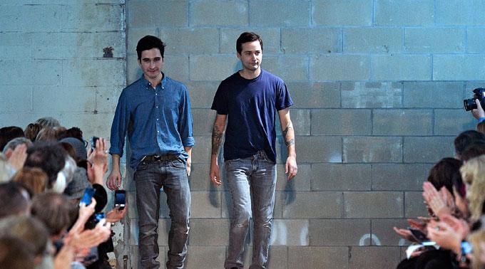 Das Designer-Duo von Proenza Scouler.