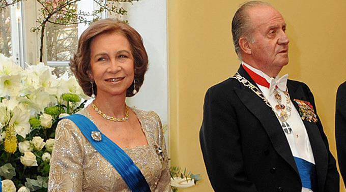 Spaniens König Juan Carlos und Königin Sofia.