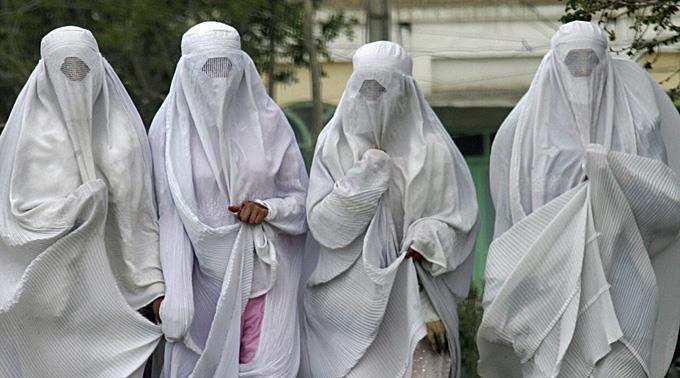 Frauen im Burka. (Symbolbild)