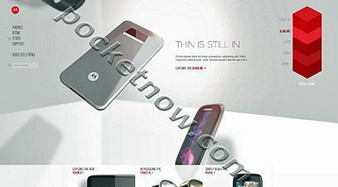Motorola zeigt neue Geräte.