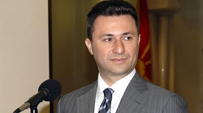 Nikola Gruevski hat seinen Rücktritt angekündigt. (Archivbild)