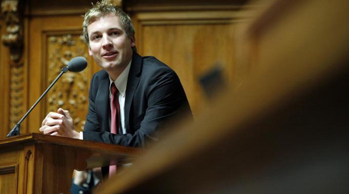Lukas Reimann: Die Transparenz-Initiative soll der Politik wieder mehr Glaubwürdigkeit verleihen.