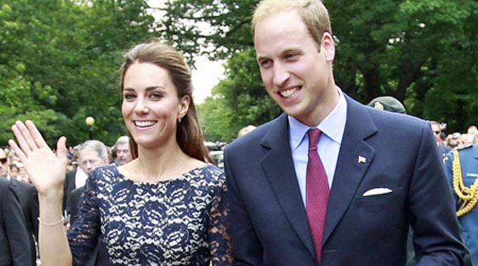 William und seine Catherine machen sich auf den Weg zurück nach England.