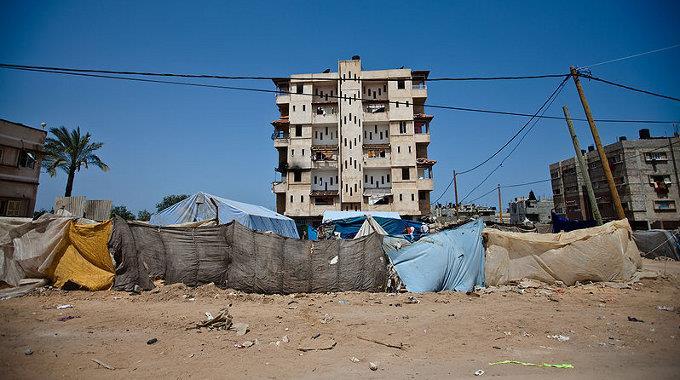 Bei neuen Luftangriffen im Gazastreifen kamen sechs Menschen ums Leben.