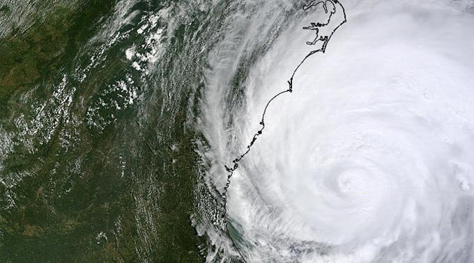 Der riesige Sturm «Irene» richtete quer in den USA grosse Schaden an.