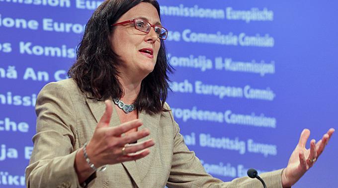 EU-Innenkommissarin Cecilia Malmström.