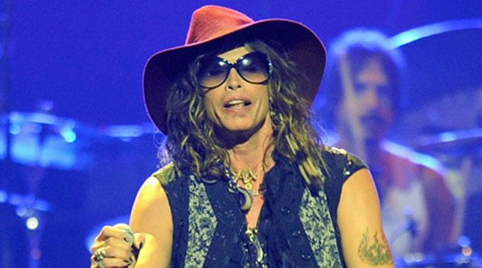 Aerosmith-Frontmann Steven Tyler.