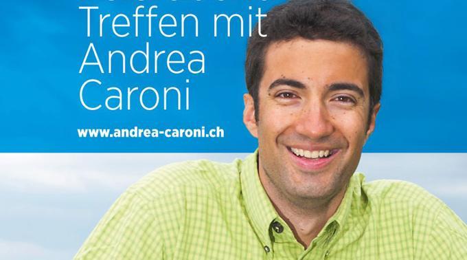 Überraschungserfolg: Andrea Claudio Caroni.