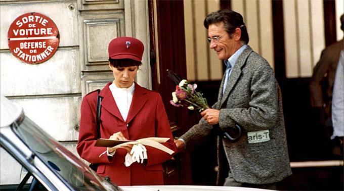 Christine Dejoux und Robert Lamoureux in «L'Apprenti salaud».