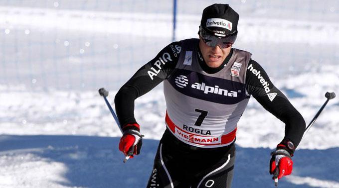 Dario Cologna ist Leader auf der Tour de Ski.