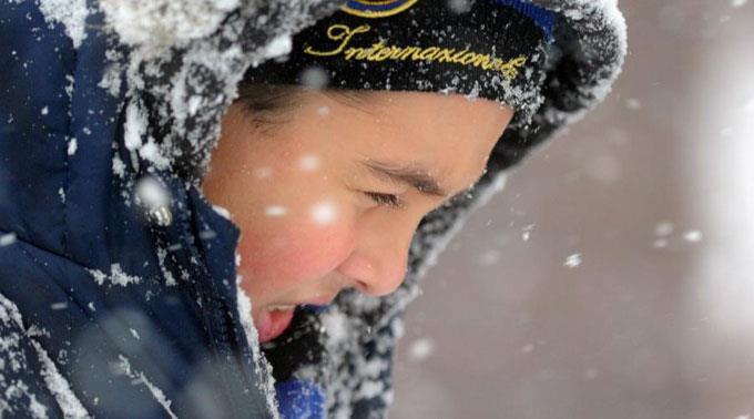 Die Temperaturen in der Ukraine sinken bis auf -30 Grad Celsius. (Symbolbild)