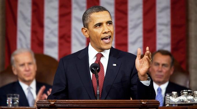 Säbelrasseln im Wahlkampf: US-Präsident Barack Obama droht unverhohlen mit Militärschlag.