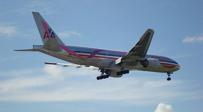 Bei American Airlines sind 13'000 Jobs gefährdet.