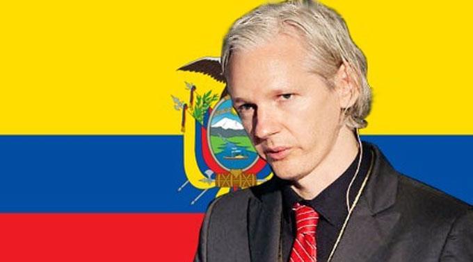 Ecuador steht hinter Assange. (Symbolbild)