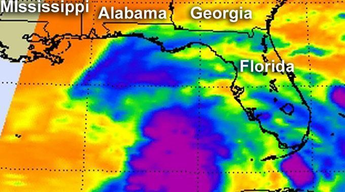 Der Tropensturm «Debby» nähert sich Florida.